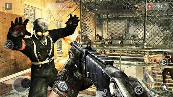 Zombie Critical Army Strike : Attack Games 2019 Screenshot
