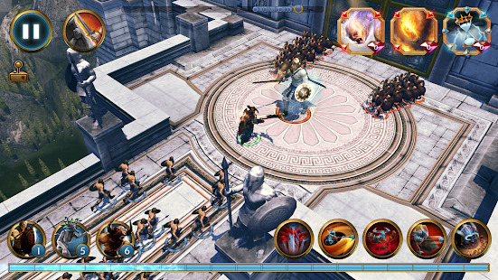 Olympus Rising: Tower Defense and Greek Gods Screenshot