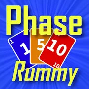 Phase Rummy: card game with 10 phases