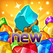 Jewels fantasy :  Easy and funny puzzle game
