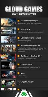 Gloud Games -Free to Play 200+ AAA games Screenshot