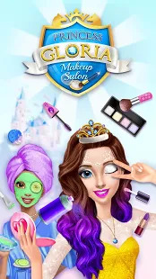 Princess Gloria Makeup Salon Screenshot