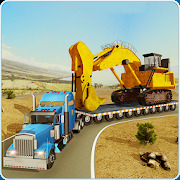 Construction Machines Transporter Truck