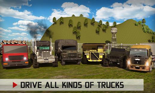 Offroad Big Rig Truck Driver: USA Truck Simulator Screenshot