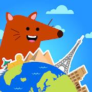 Kids Atlas Game - Puzzle World