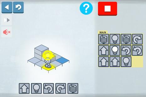 Lightbot : Code Hour Screenshot