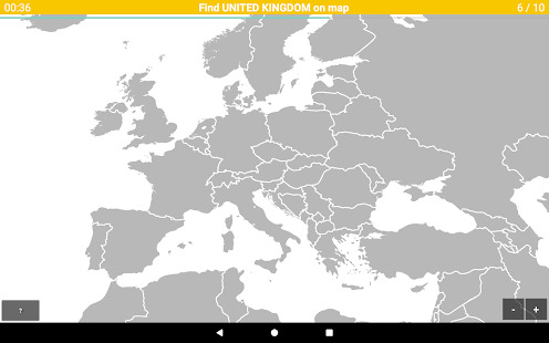 Games.lol | Game » Europe Map Quiz – European Countries and ...