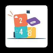 crazy 2048 :  crazy game, funny square  puzzle!