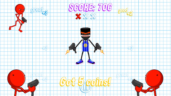 Gun Fu: Stickman 2 - Fun Shooting Games Screenshot