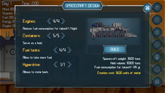 Random Space: Survival Simulator Screenshot
