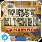 Hidden Object Messy Kitchen