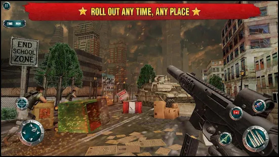 Call of world war II : strategy war game Screenshot