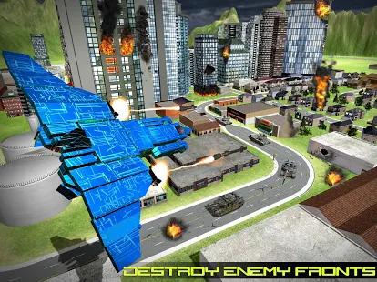 Transform Robot Action Game Screenshot