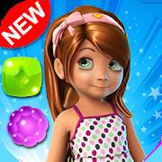 Candy Girl - Cute match 3 games New match 3 free