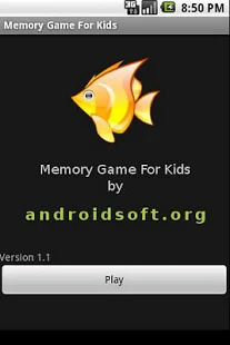 Memory Game For Kids Screenshot