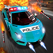 Police Venom Force : Arcade Car Shooting Game