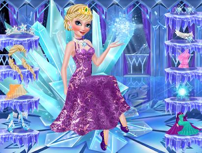 Icy Queen Spa Makeup Party Screenshot