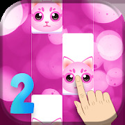 Pink Cat Piano 2 - Girly Piano Tiles