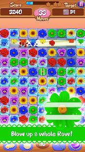 Flower Mania: Match 3 Game Screenshot