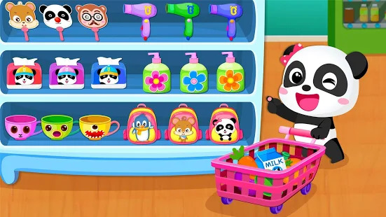 Baby Panda's Supermarket Screenshot