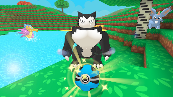 Pixelmon Trainer Craft: Catch & Battle Screenshot