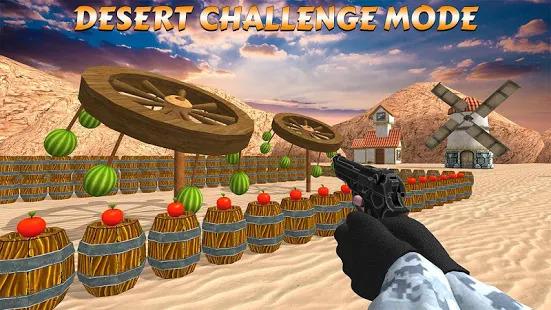 Apple Target Shoot: Watermelon Shooting Game 3D Screenshot