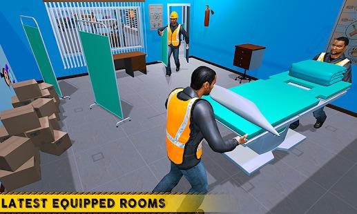 City Hospital Building Construction Building Games Screenshot