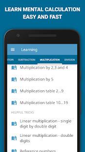 Math games: arithmetic times tables mental math Screenshot