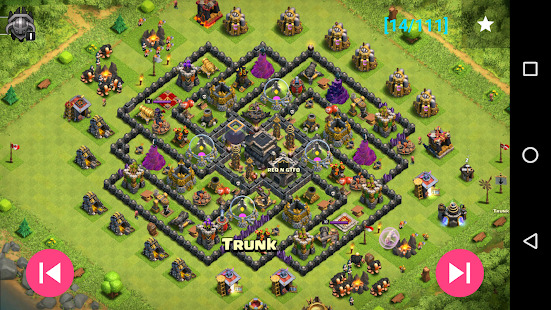 Maps of Coc TH9 Screenshot