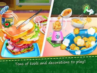 School Lunch Food Maker 2: Free Cooking Games Screenshot