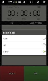 Simple Stopwatch & Timer Screenshot