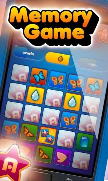 Memory Game Screenshot