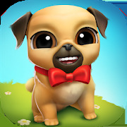 My Virtual Pet Dog ???? Louie the Pug