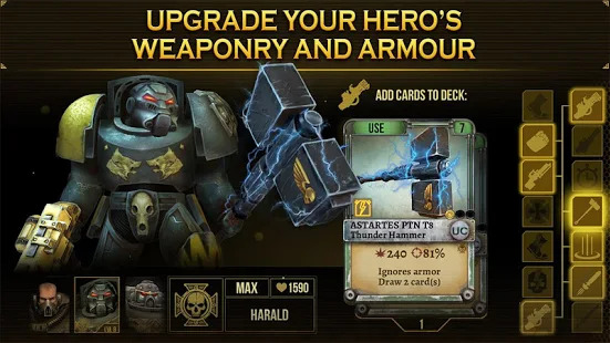 Warhammer 40000: Space Wolf Screenshot