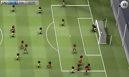 Stickman Soccer - Classic Screenshot