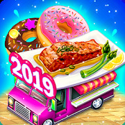 Sea Food restaurant-Donuts Truck Unicorn Food Game