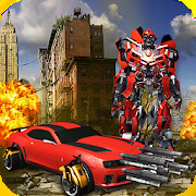 Extreme War of Robot -  Transform Car Fight