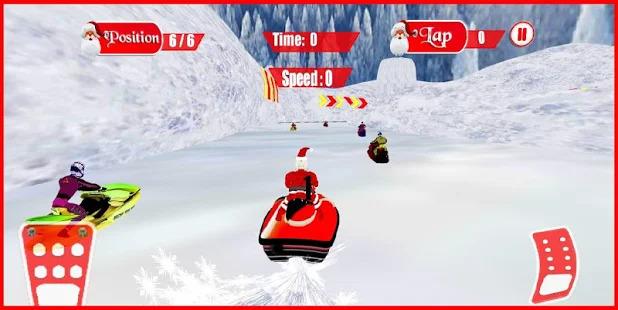 Santa Snow Race Screenshot