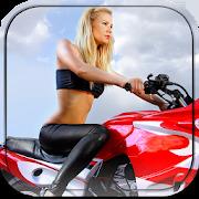 Adult Sexy Custom Bike Poker