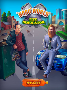 Hobo World - life simulator Screenshot