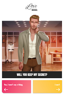 Love & Diaries : Michael - Romance Fashion story Screenshot