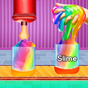 DIY Super Slime Factory -  Satisfying ASMR Games