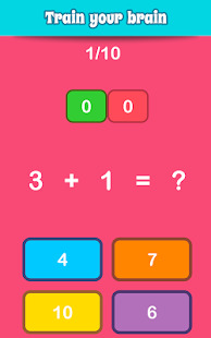 Math Games Learn Add Subtract Multiply & Divide Screenshot