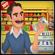 Supermarket Store Cashier  Kids Shopping Game