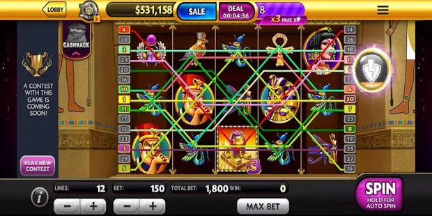 Caesars Slots: Free Slot Machines and Casino Games Screenshot