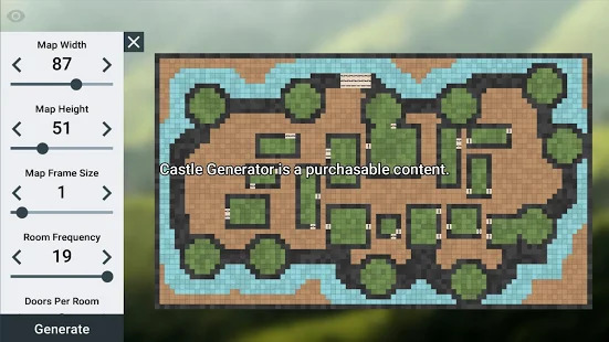 ProDnD Tabletop Game Manager and Dungeon Generator Screenshot