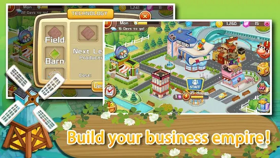 Growing Farm-Dream Manor Town Tycoon Leisure Game Screenshot