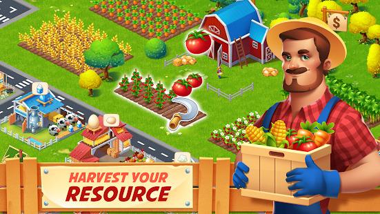 Farm City : Farming & City Building Screenshot