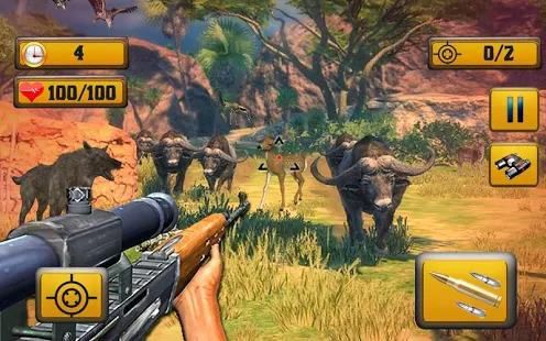 Wild Animal Shooting Screenshot
