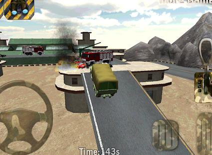 Parking 3D - Army parking war Screenshot